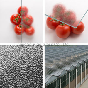 4mm MID Haze Toughened Glass for Glass Greenhouse Roofs pictures & photos