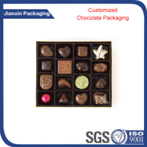 Black Blister Plastic Chocolate PVC/Pet/PS Packing Tray pictures & photos