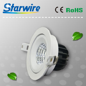 Cl09-B02 High Lumen Dimmable 9W COB LED Downlight pictures & photos