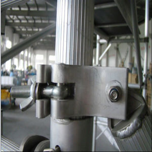 Aluminum Alloy Double-Width Scaffolding with Casters pictures & photos