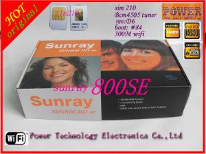 Sunray 800se WiFi Internal, DVB 800se WiFi, OEM 800 HD Se WiFi D6 Version SIM2.1 Satellite Receiver