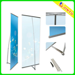 China Durable L Banner Stand Floor Standing Banner Display