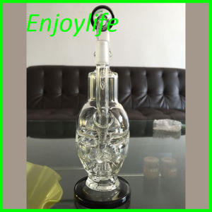 Wholesale Price 2015 New Skull Recycler Water Pipe pictures & photos