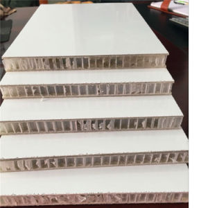 High Gloss Gel-Coat FRP Prelaminated PP Honeycomb Panels pictures & photos