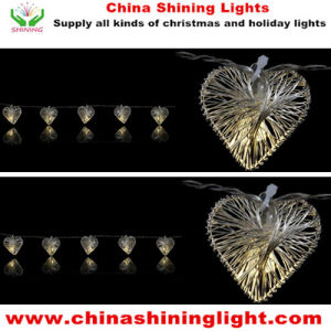 10LED 1m 3*AA Battery Box 4.5V String Light pictures & photos