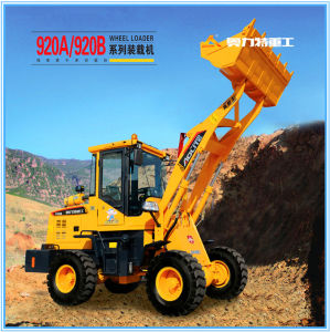 Most Practical Small Payloader with 1 Ton and 0.6 M3 Capacity pictures & photos