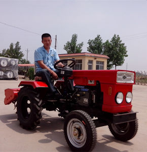 Mini Tractor with Tiller Hot Sale pictures & photos