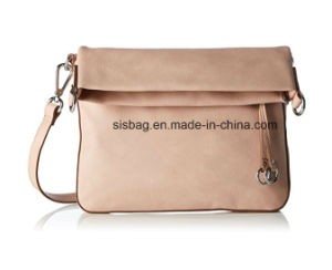 New Fashion PU Cover Folding Crossbody Bag Imitation Leather Bag pictures & photos