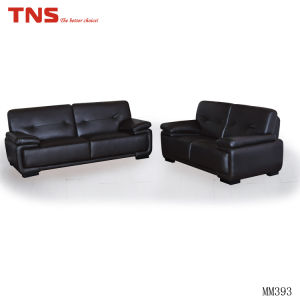 Modern Hotel Room Bond Leather Sofa (mm393)
