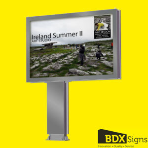 Megaboard Outdoor Double Sided Scrolling Advertising Billboard pictures & photos