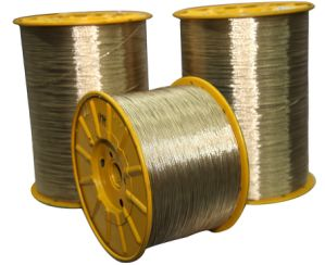 Copper Coated 2+7X0.22ht Good Quality Steel Cord pictures & photos