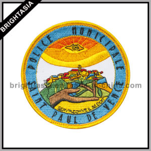 Fashion Embroidery Patch with Heat Seal Back (BYH-10767) pictures & photos