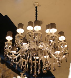 Modern K9 Crystal Decoration Fixture Lamp, Chandelier pictures & photos