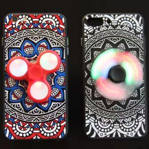 Latest LED Mobile Case Fidget Spinner pictures & photos