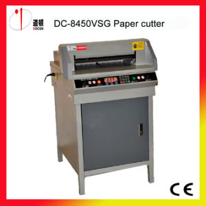 DC-8450vsg Electric Book Cutting Machine, Paper Cutter pictures & photos