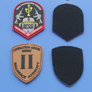 3D Army PVC Patch with Hook & Loop pictures & photos