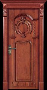 Europe Composite Wood Door (CL-2042) pictures & photos