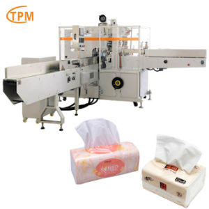 Tissue Paper Packing Machine Automatic Napkin Tissue Packaging Machine pictures & photos