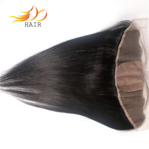 High Quality Silky Base Mongolian Virgin Remy Hair Lace Frontal pictures & photos