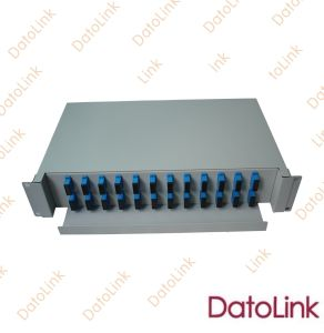 Fiber Optic Slidable Rack Mount Type Patch Panel 48 Cores pictures & photos