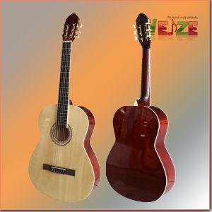 Linden Plywood Classic Guitar pictures & photos