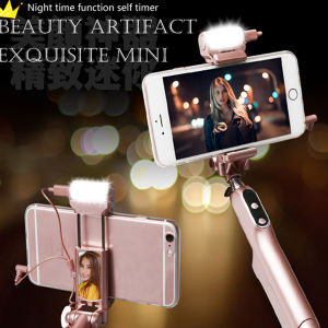 Colorful Monopod Selfie Stick Foldable Telescope Wired Selfie Stick pictures & photos