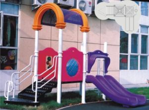 2014 Hot Selling Outdoor Playground Slide with GS and TUV Certificate (QQ12029-4) pictures & photos