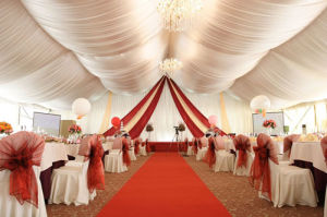 White Romantic Inside Liining Wedding Party Decoration Tent pictures & photos