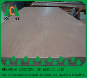 China Wood Venner Faced Commercial Plywood with Best Price pictures & photos