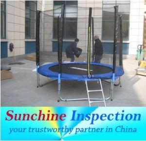 Profession Trampoline Quality Control Inspection Service pictures & photos