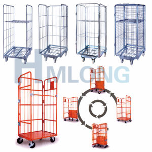 Galvanized Steel Industry Mesh Roll Cage for Sale pictures & photos