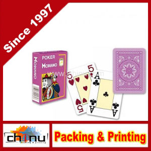 Modiano Italian Poker Game Playing Cards - Purple Poker - Large 4 Index - Single Card Deck - 100% Plastic (430145) pictures & photos
