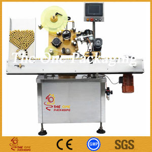 Horizontal Round Labeling Machine/Round Bottle Labler pictures & photos