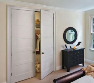 White Painted Double Door Stile and Rail Door pictures & photos
