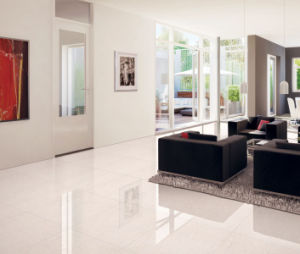 White Nafuna Polished Porcelain Tile pictures & photos
