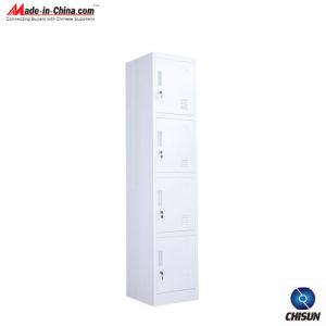 Four- Door Steel Clothes Cabinet Hs-007