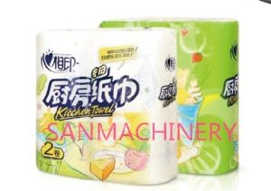 High Quality Automatic Kitchen Towel Rewinding Machine pictures & photos