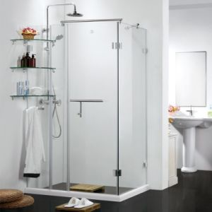 Simple Design Massage Tempered Glass Shower Rooms (SR9C001) pictures & photos