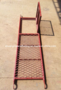 Scaffolding Steel Plank with Trap Door pictures & photos