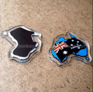 National Flag Shape Customized Acrylic Fridge Magnet pictures & photos