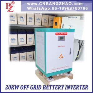 Two Phase Three Wire Hybrid Solar Sine Wave Inverter 192VDC to 220VAC Output pictures & photos