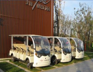 Electric 14 Passenger Sightseeing Battery Mini Bus pictures & photos