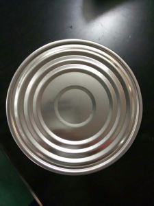 307# 83.5mm Tinplate Bottom Lids TFS for Can pictures & photos