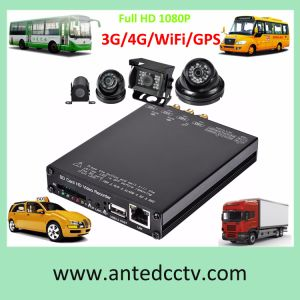 4CH 1080P SD Card Car DVR for Bus Security pictures & photos