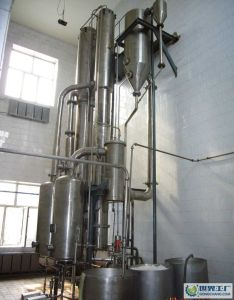 Single-Effect Falling Film Evaporator for Sugar, Glucose, Xylose, Pharmaceutical Industry, Beverage, Milk pictures & photos