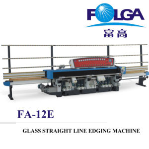 Fa-12e Glass Single Straight Line Edging Machine pictures & photos