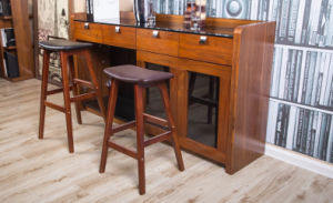 American Style Hot Selling Bar Stool Made by Solid Wood (M-X1085) pictures & photos