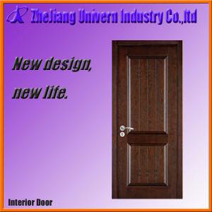 Solid Wood Main Door Designs Home Yf-S07 pictures & photos