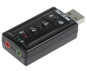 Vitrual 7.1CH USB Sound Adapter C-Media Chipset (ZT-USC02)