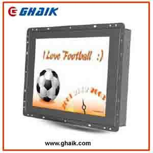 Industrial 12 Inch LCD Monitor with IR Touch Screen